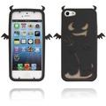 Twins Devil 2 für iPhone 5/5S/SE, schwarz