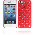 Twins Weave für iPhone 5/5S/SE, rot