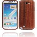 Twins Holzschutzschale Real Wood für Samsung Galaxy Note 2, dunkelbraun