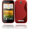 Twins Fancy Bright für HTC One SV, rot