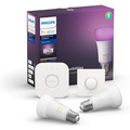Philips Hue White and Color Ambiance Starter Kit 2x E27, 1 x Smart Button, 1 x Bridge