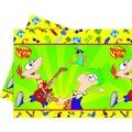 """PROCOS Plastik-Tischdecke mit Motiv """"Phineas & Ferb"""", 1 Stück"""
