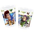 """PROCOS Plastikbecher mit Motiv """"Toy Story 3"""", 10 Stück 200 ml"""