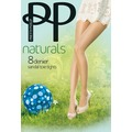 Pretty Polly Naturals 8D Sandal Toe Tights Slightly Sunkissed XL