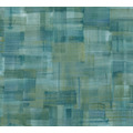 Private Walls Vliestapete Geo Nordic Mustertapete grün blau gelb 375321 10,05 m x 0,53 m