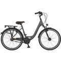 "Prophete Citybike CITY BIKE 2020 26"" Damen anthrazit Wave 45 cm"