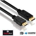 PureLink DisplayPort zu HDMI Kabel PureInstall 10,00m