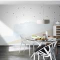 Rasch Digitaldrucktapete Young Artists Wandbild 100464 weiß, blau, beige