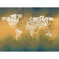 Rasch Digitaldrucktapete Young Artists Wandbild 101027 weiß, gelb, grün