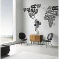 Rasch Digitaldrucktapete Young Artists Wandbild 101034 schwarz, weiß