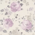 "Rasch Florentine ""Blüte""; 448832; bordeaux, rosa, braun"