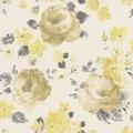 """Rasch Florentine """"Blüte""""; 448887; braun, gelb"""