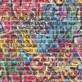 Rasch Tapete Kids & Teens III 213201 Schwarz, Grün, Rot, Blau, Gelb 0.53 x 10.05 m