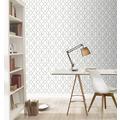 Rasch Tapete Modern Art 309300 Weiß 0.53 x 10.05 m