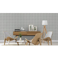 Rasch Tapete Modern Art 745467 Grau, Silber 0.53 x 10.05 m