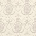 Rasch Tapete Trianon XII 532104 Creme, Weiß 0.53 x 10.05 m
