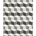 Rasch Tapete Uptown Motiv 402728 Silber