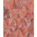 Rasch Tapete Yucatán 535549 Rot, Gold 0.53 x 10.05 m