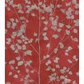Rasch Vlies Tapete Muster & Motive 416640 Finca Rot-Korallenrot 0.53 x 10.05 m