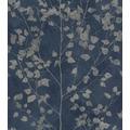 Rasch Vlies Tapete Muster & Motive 416657 Finca Blau-saphirblau 0.53 x 10.05 m