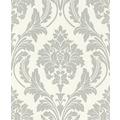 Rasch Vlies Tapete Muster & Motive 541625 Glam Silber-silber schimmer 0.53 x 10.05 m