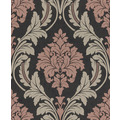 Rasch Vlies Tapete Muster & Motive 541656 Glam Schwarz-Anthrazit 0.53 x 10.05 m