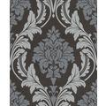 Rasch Vlies Tapete Muster & Motive 541663 Glam Schwarz-Anthrazit 0.53 x 10.05 m