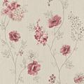 Rasch Vliestapete Blumen Blüten Aquarell, 573428