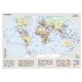 Ravensburger Premiumpuzzle im Standardformat - Politische Weltkarte