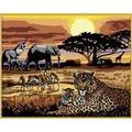 Ravensburger Afrikanische Impression. Malen nach Zahlen Serie Premium