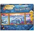 Ravensburger Malen nach Zahlen - Farbenfrohe Unterwasserwelt