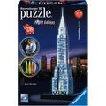 Ravensburger 3D Puzzles - Chrysler Building bei Nacht