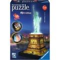 Ravensburger 3D Puzzles - Freiheitsstatue bei Nacht