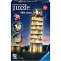 Ravensburger 3D Puzzles - Schiefer Turm von Pisa bei Nacht