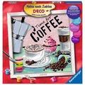 Ravensburger Malen nach Zahlen - Coffee