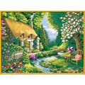 Ravensburger Malen nach Zahlen - Cottage Garden