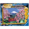 Ravensburger Malen nach Zahlen - Japanische Kirschblüte