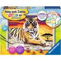 Ravensburger Malen nach Zahlen - Majestätischer Tiger