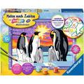 Ravensburger Malen nach Zahlen - Pinguinfamilie