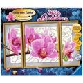 Ravensburger Malen nach Zahlen - Wilde Orchidee