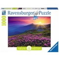 Ravensburger Nature Edition - Bergwiese im Morgenrot