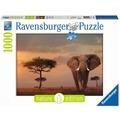 Ravensburger Nature Edition - Elefant in Masai Mara National Park