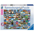 Ravensburger Premiumpuzzle im Standardformat - 99 Beautiful Places on Earth
