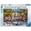 Ravensburger Premiumpuzzle im Standardformat - Aimee Stewart: Großartige Tierwelt