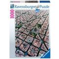 Ravensburger Premiumpuzzle im Standardformat - Barcelona von Oben