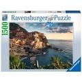 Ravensburger Premiumpuzzle im Standardformat - Blick auf Cinque Terre