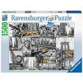 Ravensburger Premiumpuzzle im Standardformat - Farbtupfer in New York