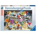 Ravensburger Premiumpuzzle im Standardformat - Gelini auf Reisen
