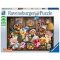 Ravensburger Premiumpuzzle im Standardformat - Gelini Familienporträt