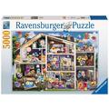 Ravensburger Premiumpuzzle im Standardformat - Gelini Puppenhaus